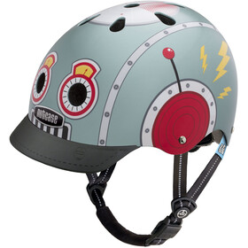 Nutcase Little Nutty Street Casco Niños, tin robot